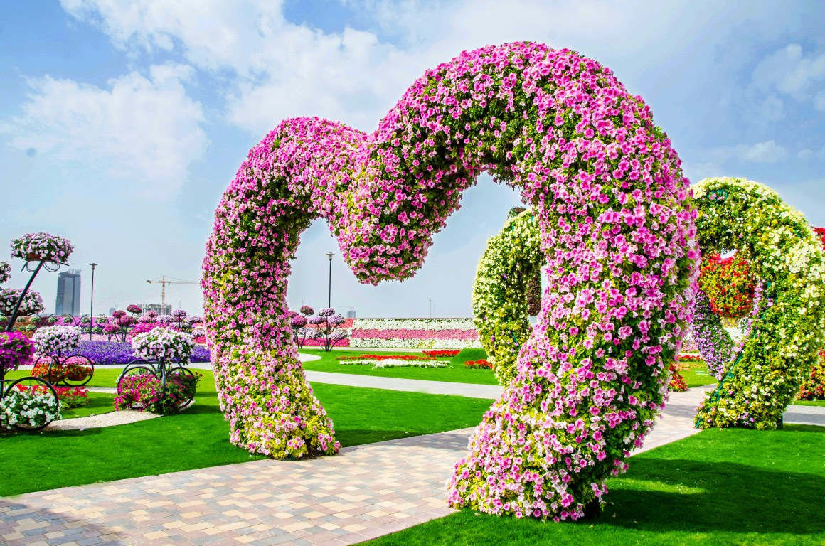 Dubai Miracle Garden Gallery