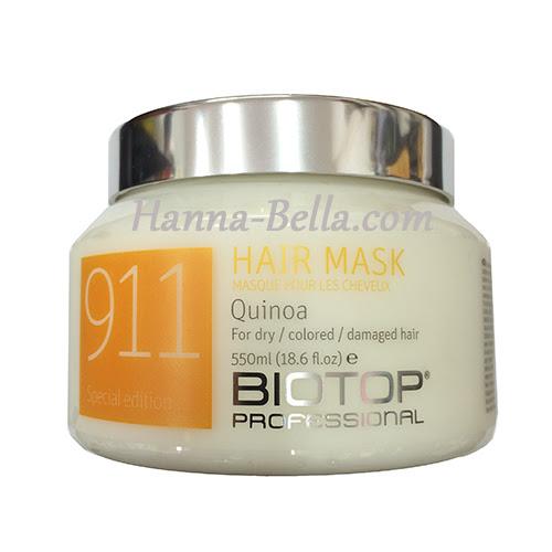 Buy Hair Mask Quinoa Biotop 550\u043c\u043b without intermediaries