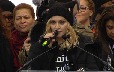 "Madonna at Women's March: ""I have thought an awful lot about blowing up the White House"""