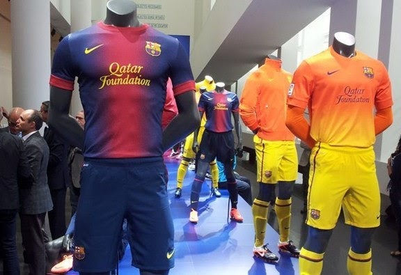 FC Barcelona New Kits 2012/13- Nike Barca Jersey 2012-2013 Home & Away
