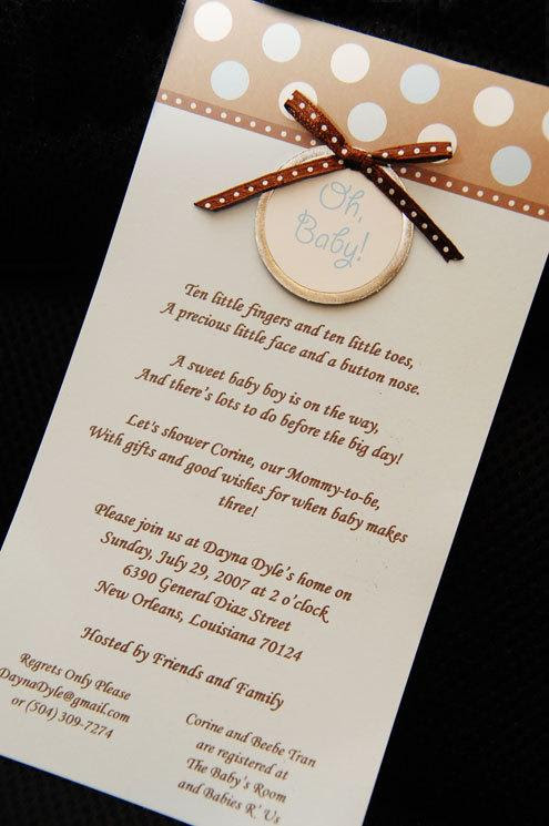 The Cutest Shower Invites Ever Tran Family Blog The Life Of