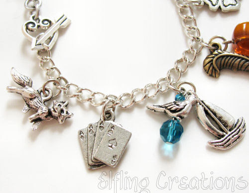 Writing Charm Bracelet 3