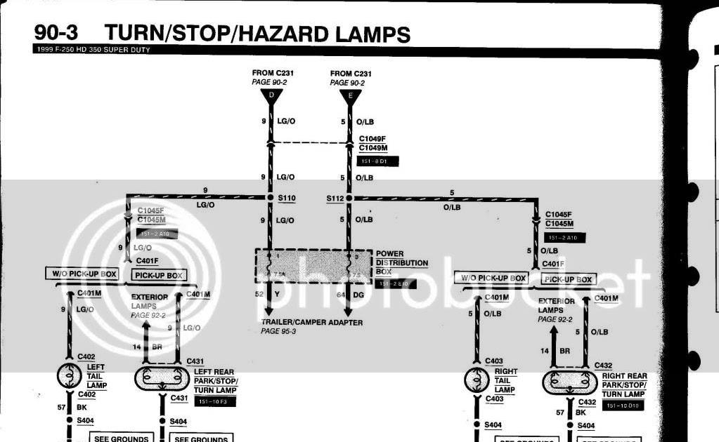 Wiring Diagram  11 Ford F350 Wiring Diagram For Trailer Plug