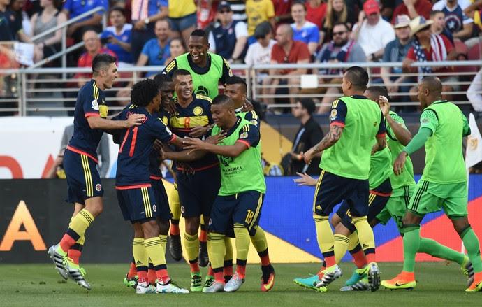 EUA x Colômbia Copa América (Foto: AFP)