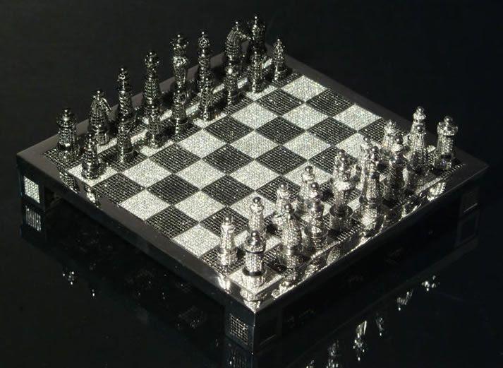 juego de ajedrez Charles Hollander