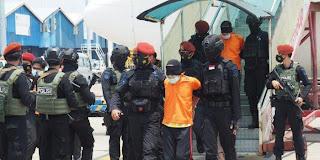 22 Terduga Teroris di Jatim Tiba di Jakarta