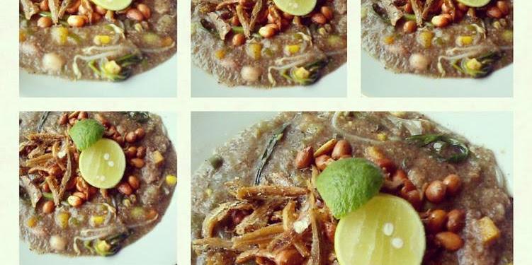Resep Bubur Sehat Khas Kalimantan Barat (Bubur Pedas) Oleh Hillary Dayu Anjani