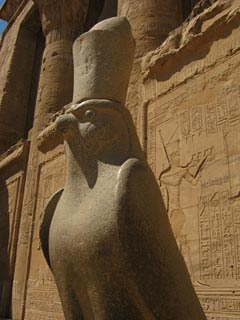 Statue of the God Horus