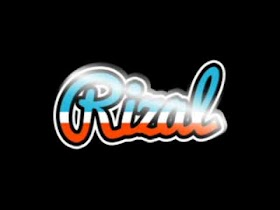 Grafiti Nama Rizal Keren