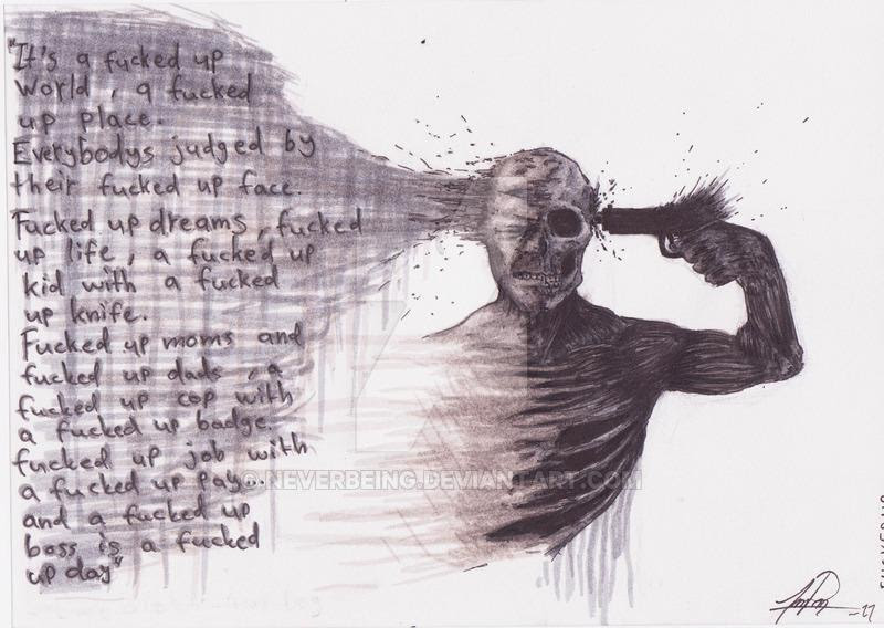 Depression Drawing_ at GetDrawings | Free download