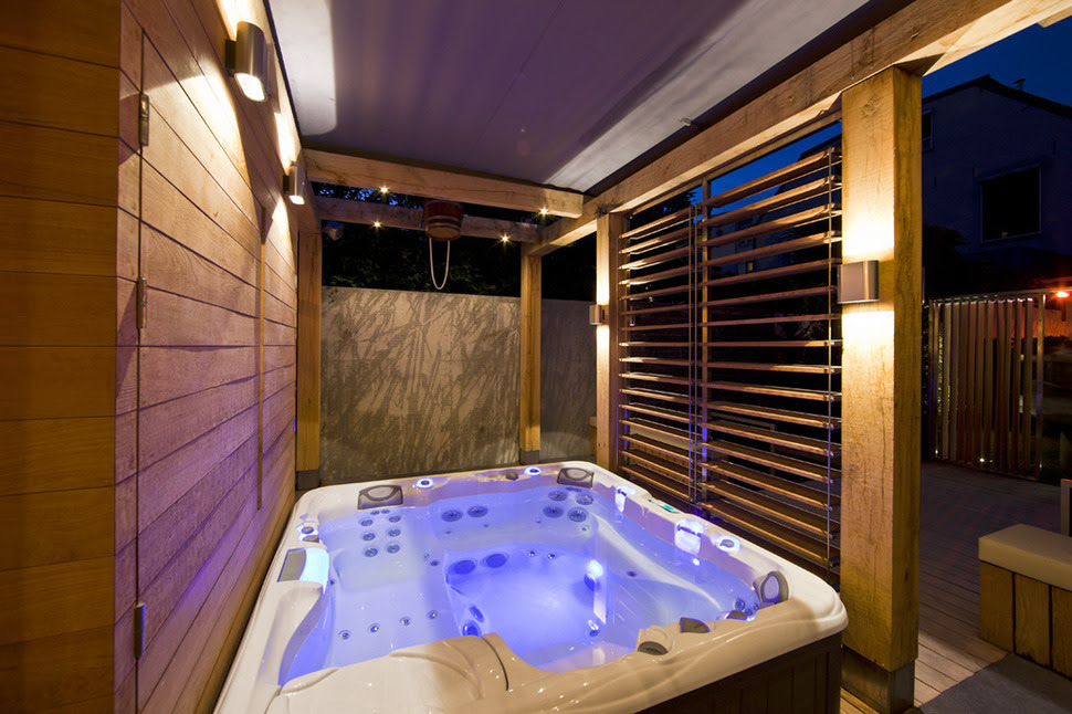 Warm Outdoor Jacuzzis Tubs Ideas - Home Interior House Interior