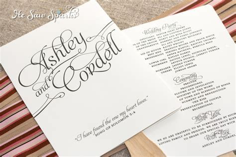 25 Images of Wedding Fan Template Wording   leseriail.com