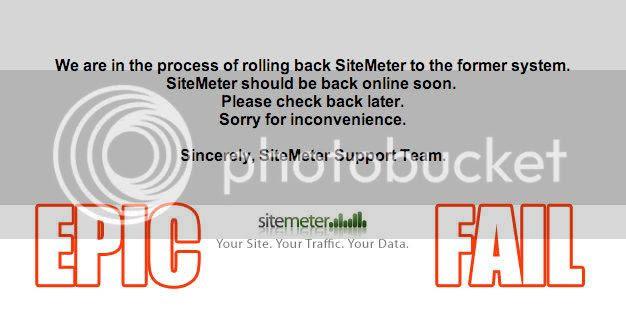 SiteMeter Epic Fail