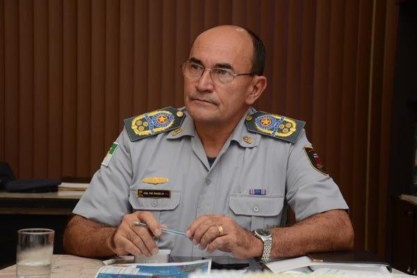 Ângelo Mário de Azevedo Dantas assumiu o comando da PM em 2015, durante início do Governo Robinson