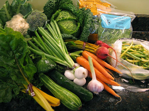 What's in CSA box #6