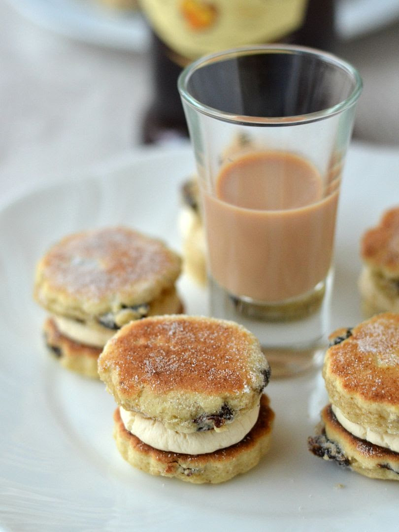 Welsh Cakes and Amarula Cream #CelebrateTheNations