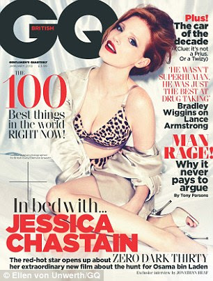 Cover girl: Jessica reveals she never gets recognised, but says this mostly to do with never falling out of clubs at 2am