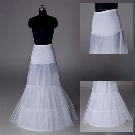 Trumpet/Mermaid Petticoat Bridal Hoop Skirt Wedding Dress