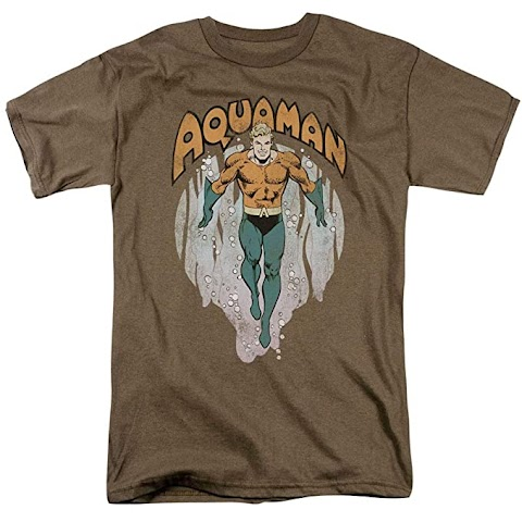 Dc Comics Aquaman T Shirt