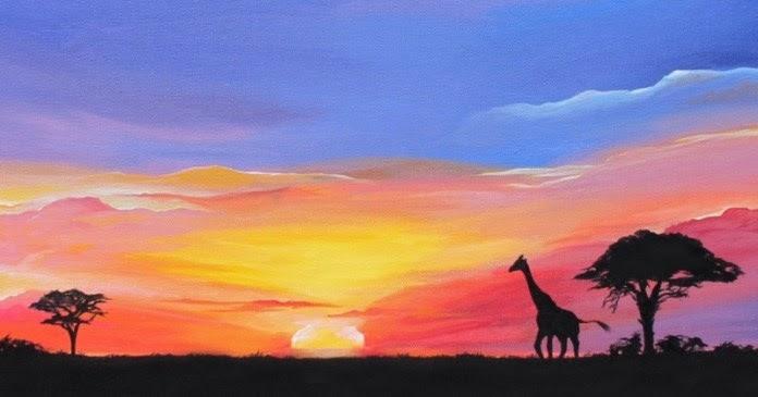 Lukisan Pemandangan Yang Indah Dan Mudah Dibuat - Paimin ...