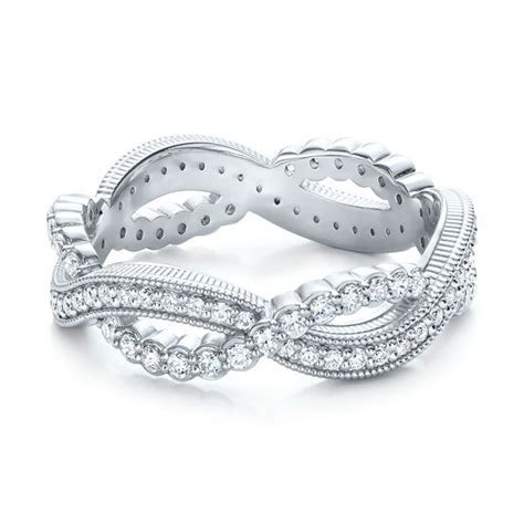 Infinity Diamond Stackable Eternity Band #101931   Seattle