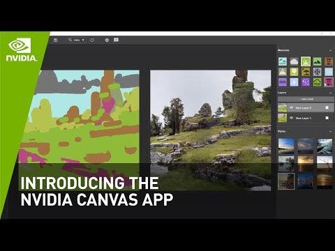 NVIDIA Canvas está disponible para todo el mundo: convierte tus dibujos en fotos realistas con IA
