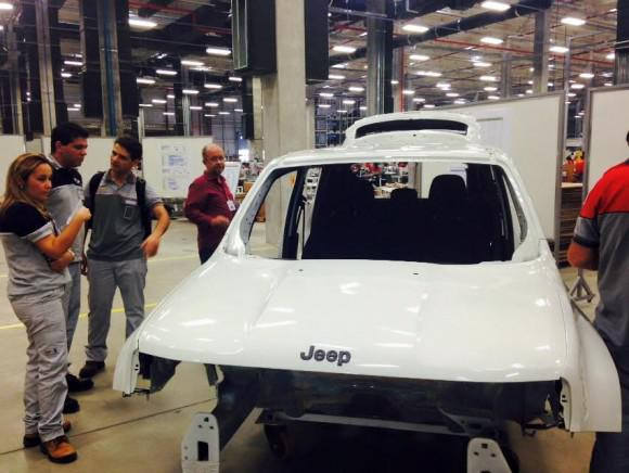 Modelo do Jeep Renegade, que deve ser comercializado por R$ 69 mil. Foto: Marcela Balbino/BlogImagem.