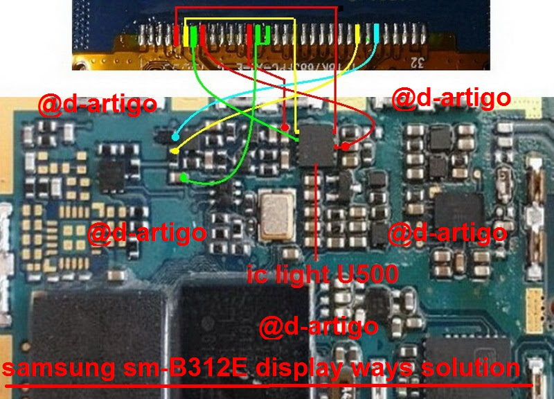 Samsung B312E Display Problem Solution Jumper Ways