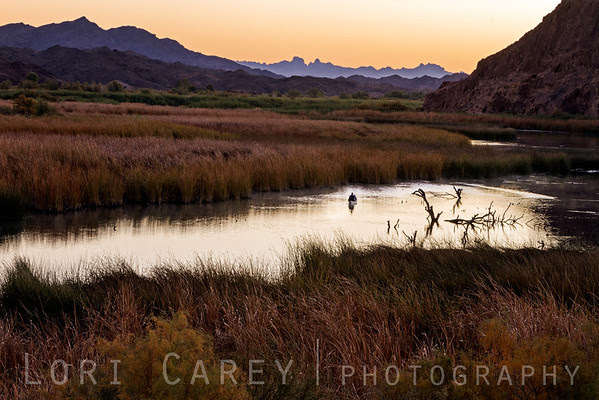 Boat on Taylor Lake at dawn in Picacho State Recreation Area, California