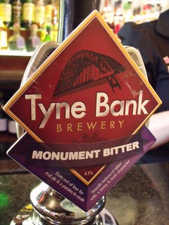 Tyne Bank, Monument Bitter, England