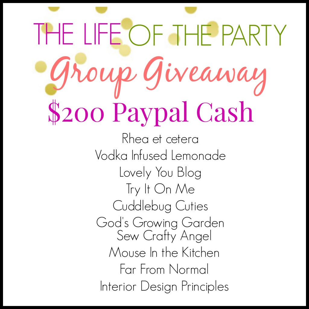 Group Giveaway!