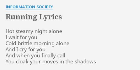 Hot Steamy Night Alone I Wait For You Lyrics