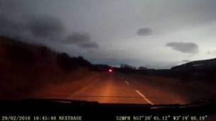 Luz en Escocia