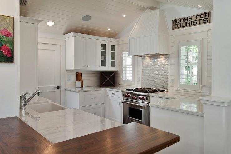 Beadboard Kitchen Hood - Cottage - kitchen - mhkap