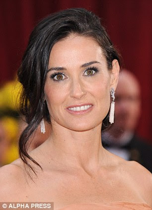 Seen a ghost? Demi Moore at 27 in 1990 and today at 47