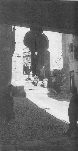 Arco de la Sangre desde la Posada de la Sangre. Foto Rodríguez