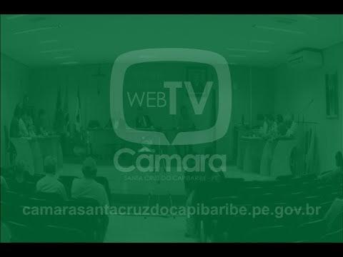 Assista a reunião desta terça-feira (20) na Câmara de Vereadores de Santa Cruz