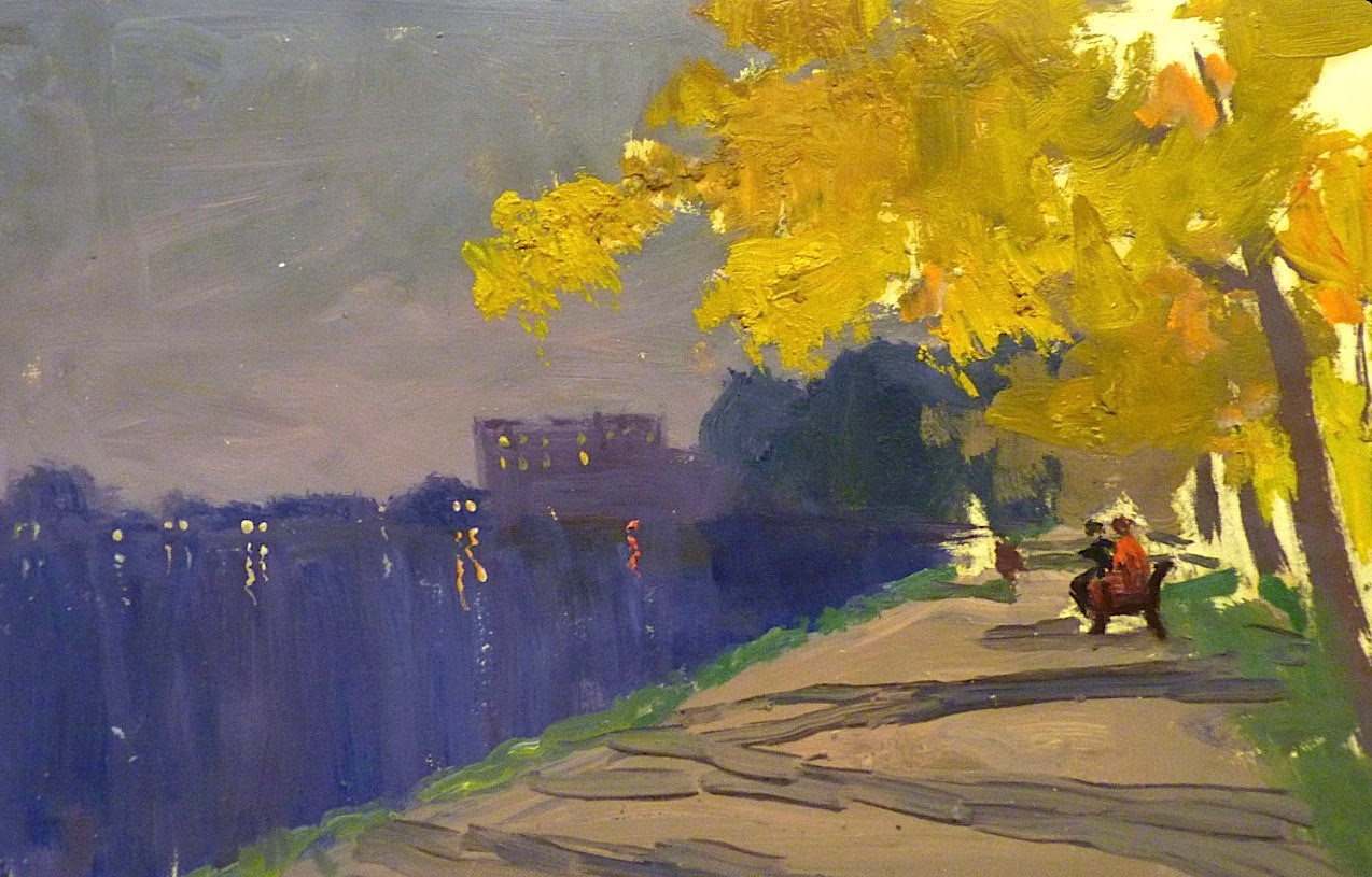 SERGEJ PANKRATOV - Autumn evening - Saint Petersburg
