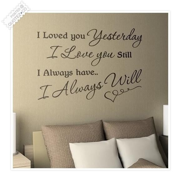 Romantic Love Quotes I Will Always Love You Quotes