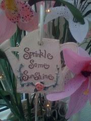 'Sprinkle Some Sunshine!'