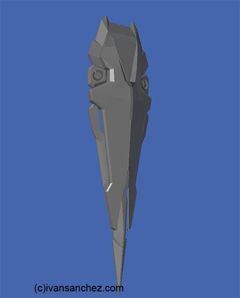 mobile suit gundam seed aegis 303 zgmf 3d mesh cg sandrum