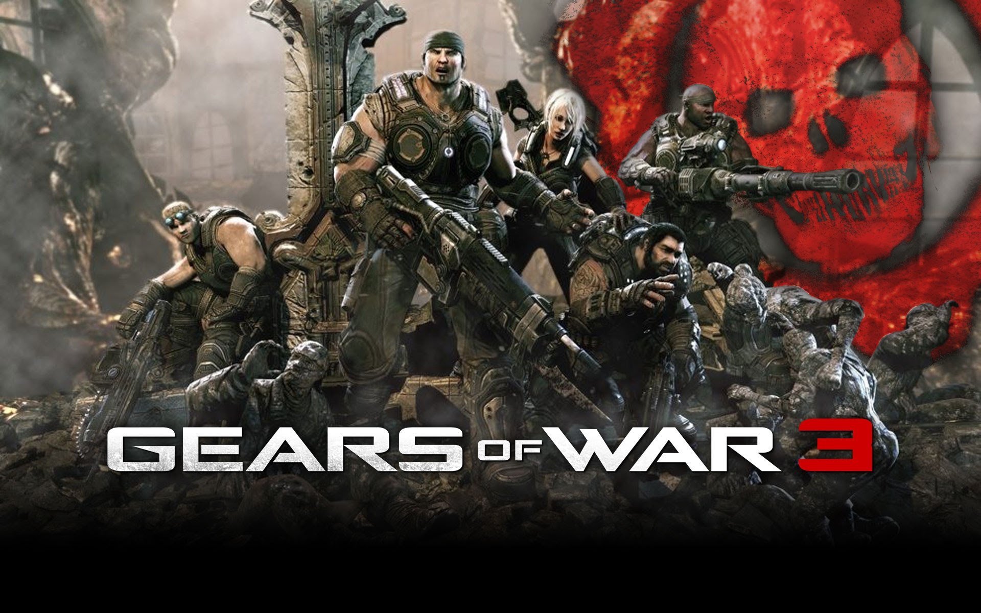 Gears Of War 3 Wallpapers Posted By John Tremblay