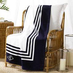 RL Art Deco Frame Beach Towel - Ralph Lauren Home Beach Towels - RalphLauren.com