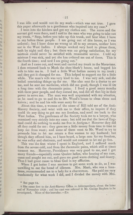 The History of Mary Prince, A West Indian Slave -Page 21
