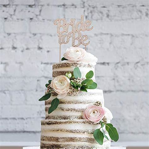Bride to Be ROSE GOLD Cake Topper   Future Mrs Cake Topper