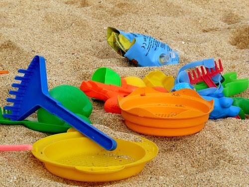 Estris de platja per la mainada