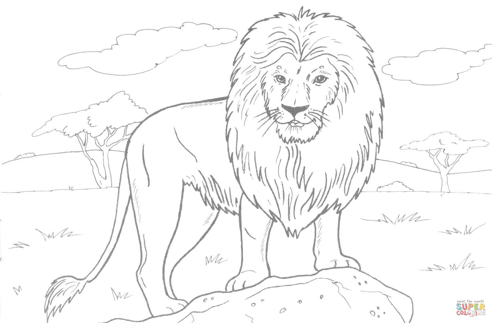 Lion Coloring Pages For Kids Animals Lion leg tattoo lion tattoo sleeves lion tattoo design sleeve tattoos flower tattoo foot flower tattoo designs flower tattoos tattoo outline drawing outline roaring lion by houseofchabrier on deviantart. lion coloring pages for kids animals
