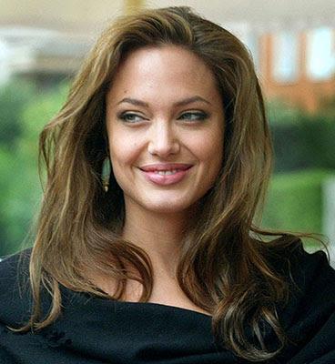 Lábios - Angelina Jolie