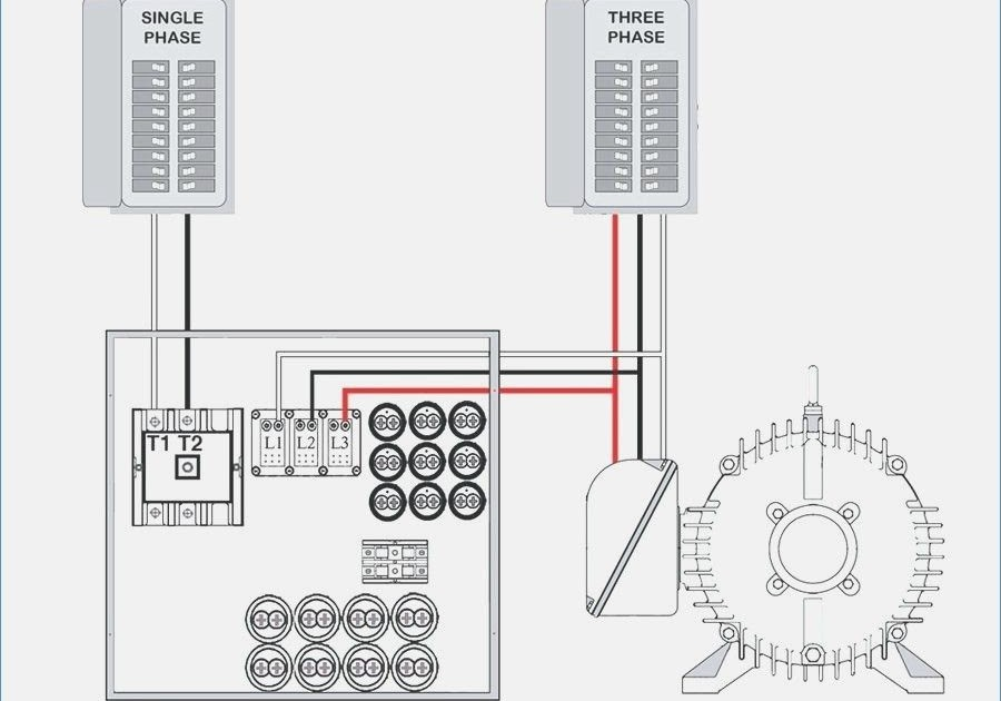 3 Phase Rotary Converter Wiring Diagram
