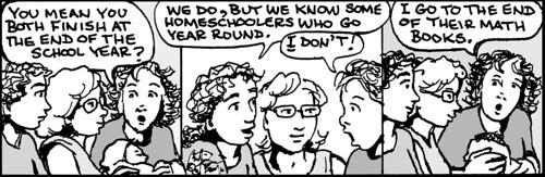Home Spun comic strip #811